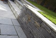 Residential Paving - Patio / Images of some of our wonderful natural stone paving installed in residential settings.