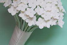 origami, papír virág