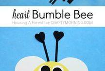 papírová Bee