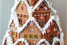 Gingerbread / All things Gingerbread.  Gingerbread houses, gingerbread men, gingerbread recipes, gingerbread coffee and so on...