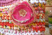 Crochet and craft bags / Bolsos