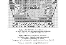 punto. cruz / Sólo patrones
