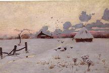Art | Painting Winter