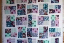patchwork + quilting / by Sadie Wishart