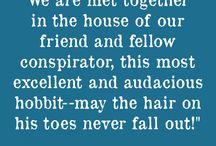 Hobbit/lotr quotes