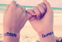 best friends / here you find pure pictures best friends who never separated.