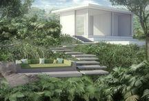 Mi Job / Architecture, Landscape. Greenhouse. 3D viz. Disign.