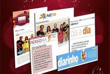 Clipping da nossa assessoria de imprensa / Nossas produções para jornais, mídia digital, blogs sociais, Tvs e rádio para nossos clientes.