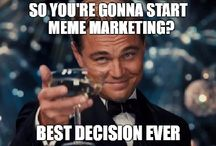 Memes In Marketing / Memes are things that go viral. e.g., an image, video, piece of text, etc., typically humorous in nature, that is copied and spread rapidly by Internet users, often with slight variations. Also: elements of a culture or system of behaviour passed from one individual to another by imitation or other non-genetic means.