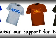 Israel T-shirts / We have a wide selection of pro Israel t-shirts in our online store.  All donations go directly towards the ministry of Jerusalem Connection.  What better way to show your support of Israel than wearing it?