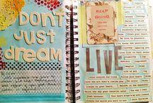 Artwork, Journals, & Books
