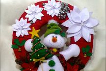 navidad coronas