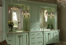 Bathroom Cabinet Designs / Bathroom cabinet designs and vanities available through Asheville Custom Cabinetry