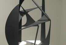 Abstrakt skulptur