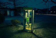 Cabinas teléfonicas