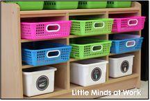 Kindergarten Literacy Centers / Literacy center ideas for the kindergarten classroom!