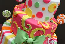 Funky cakes