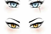 Oči drawing
