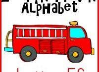 Alphabet Letter F / Activities for learning the alphabet letter F in preschool