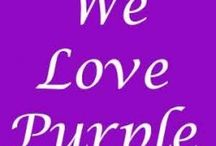 I love purple<3 / All kind of purple things