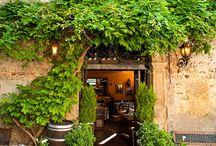 cafe front door