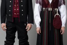 Norske bunader ,  Norwegian national costumes