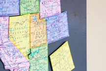 Homeschool Geography / by Vintage Minded Maven *