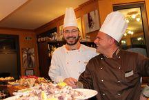 Ricette degli Chef del Ristorante Marlin Caffè a Saronno / Tutta la fantasia dei nostri due Chef condensata in pillole per voi, per provare a portare a casa un po' degli aromi e dei sapori del Ristorante Marlin a Saronno