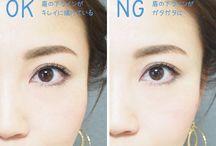 眉毛の整え方