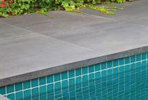 SELECTION BOARD - POOL COPING OPTIONS / POOL COPING OPTIONS