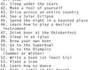 Bucket List / by Cherry Jones