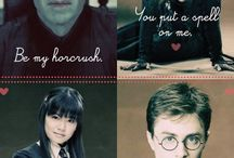 HARRY POTTER! / by Abby Ntalamu