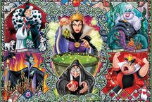 Disney Art....Villains Galore! / These pins are not exclusively mine, so feel free to pin as many as you want without fear of being blocked!