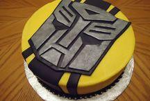 Transformer cakes