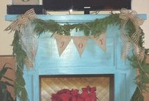 Home / Fireplace Decorations / by Amber Blue Otey