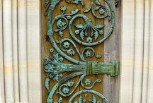 Garden Doors, Gates, Passages & Walkways
