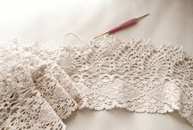 Crochet: Lace Edgings and Trim / by Teresa Penny