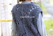 жилет вязание