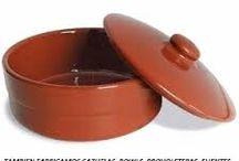 ollas barro y cerámica