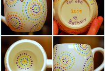 Paint Mugs Ideas