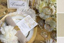 Golden Glam & Sparkilng White Wedding