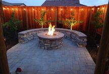 BBQ/fire pit ideas