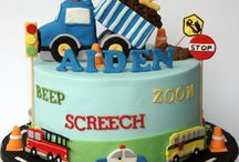 vehicles cake