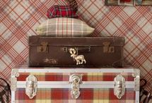 Rooms with plaid