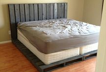 PALLET IDEAS!!! / by Candice Bales