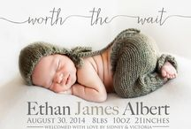 Baby announcements ideas