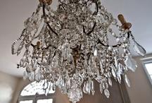 chandelier, lamps / by Aurelia A