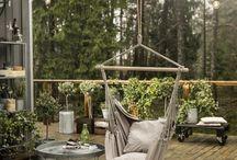 Terrasse og uteplasser