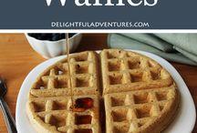 Vegan Waffles, Pancake