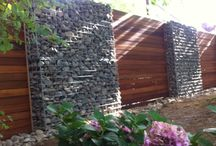 Gabion fence/walls/planters